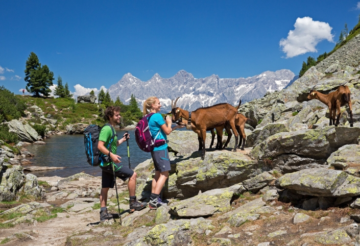 Hike in the Schladminger Tauern, Spiegelsee-Reiteralm