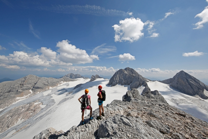 Dachstein Glacier - via ferrata and long-distance tours