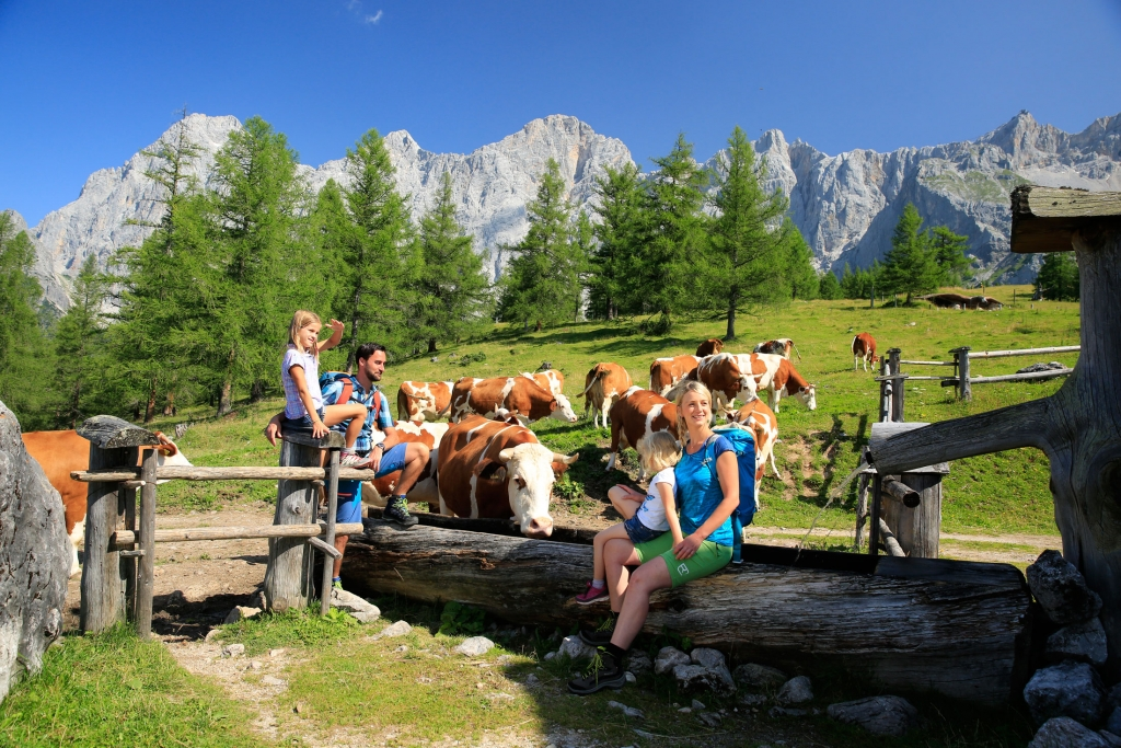 Family holiday and hiking region Ramsau am Dachstein